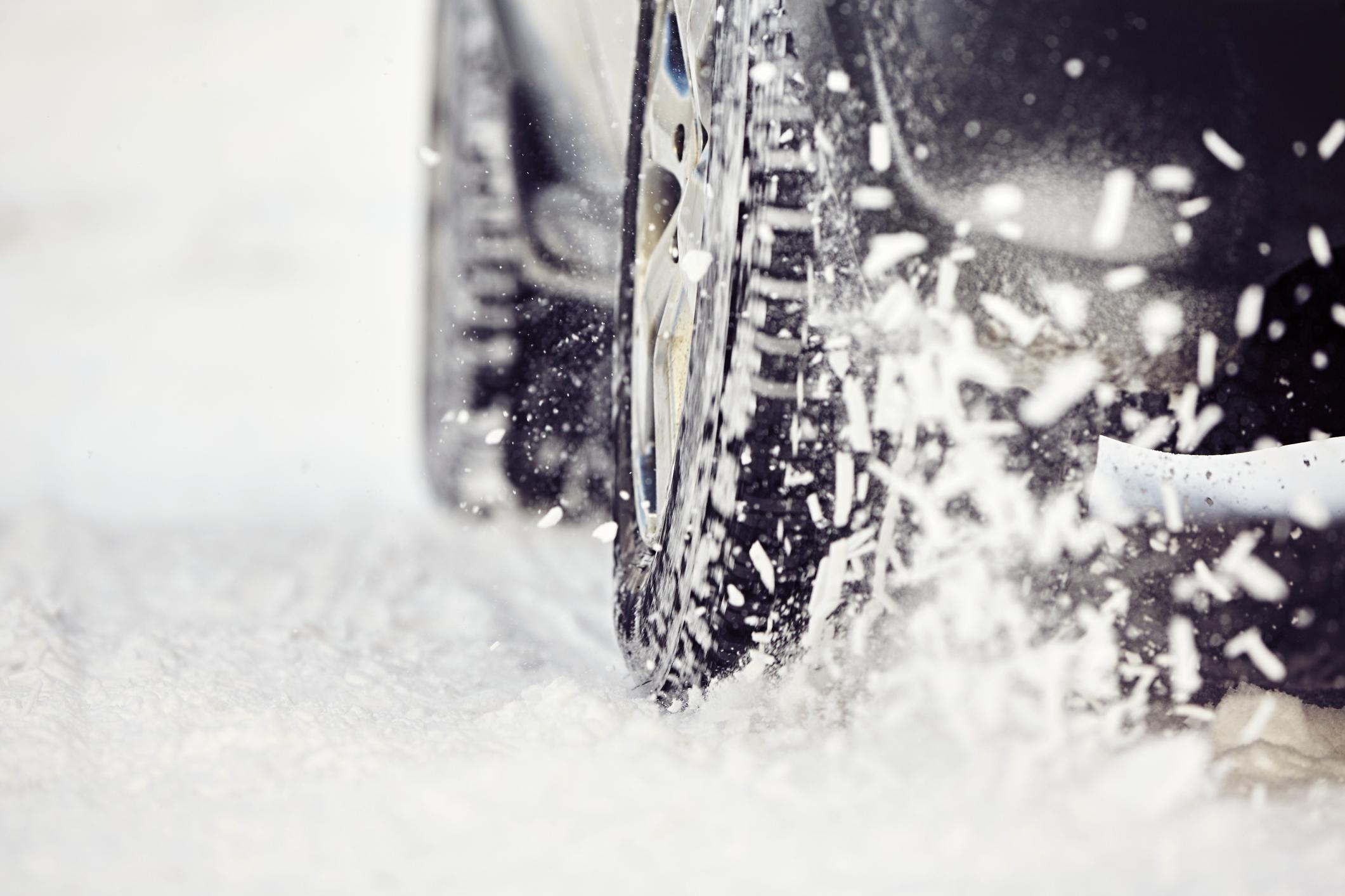 Personenwagen Schnee & Eis Aufbau