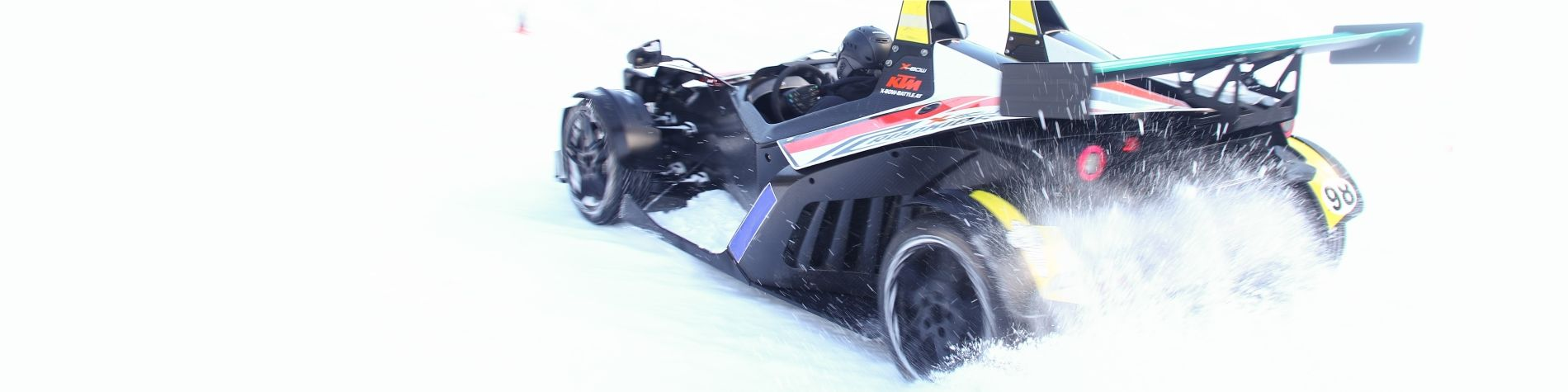 KTM X-Bow Schnee & Eis