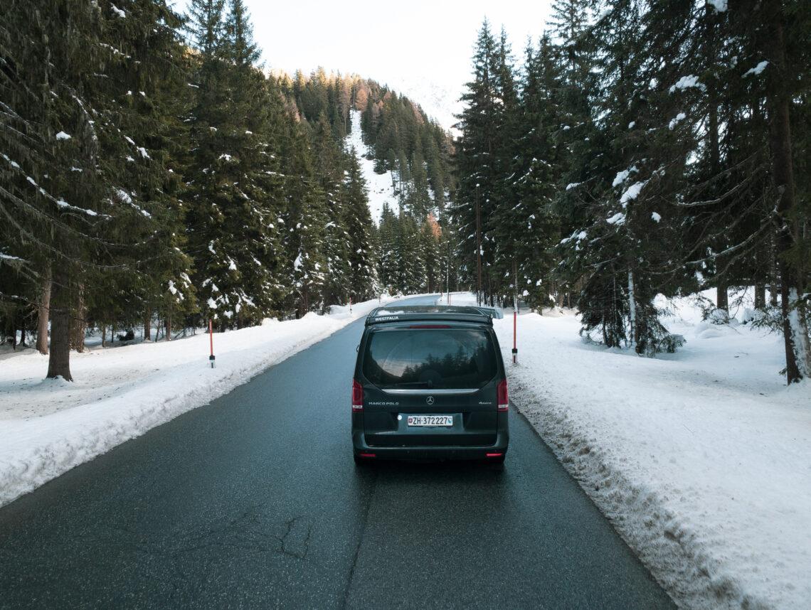 Mercedes-Benz Marco Polo Wintervanlife
